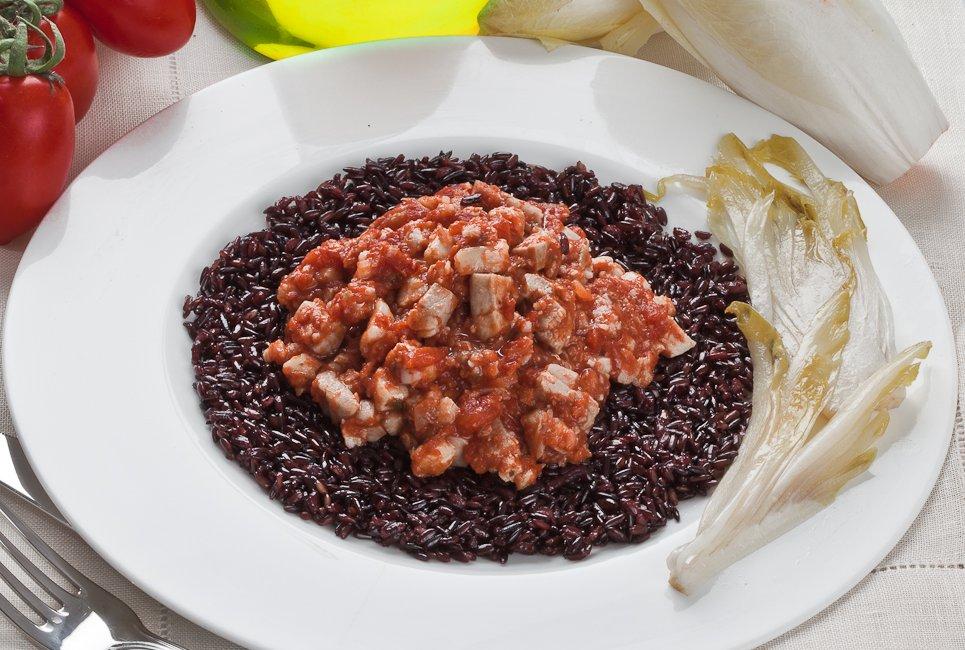 Riso Nero Al Ragù Di Pesce Educazione Nutrizionale Grana Padano